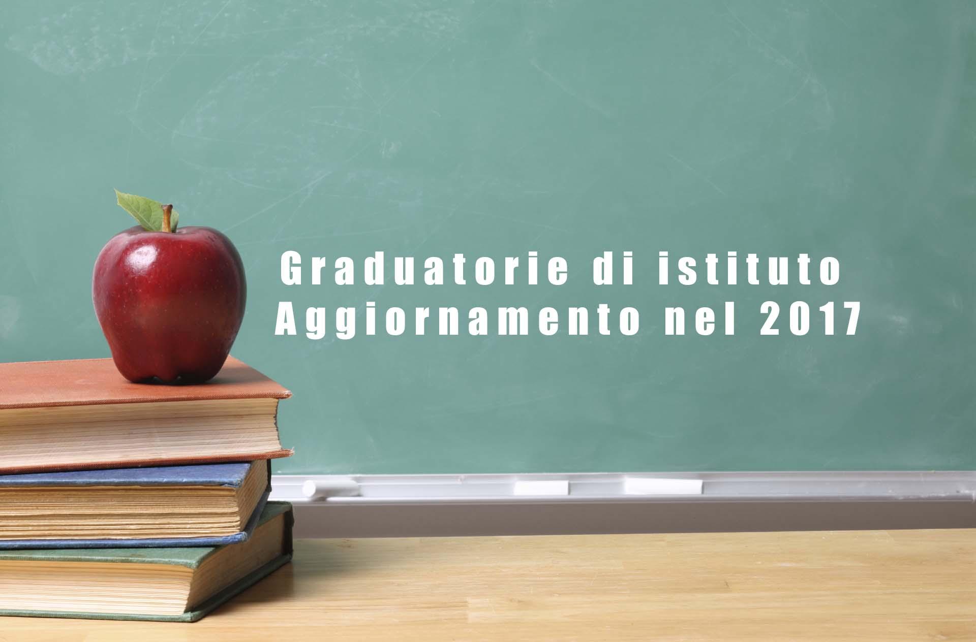 Graduatorie di istituto aggiornamento nel 2017: come ottenere punteggi aggiuntivi.
