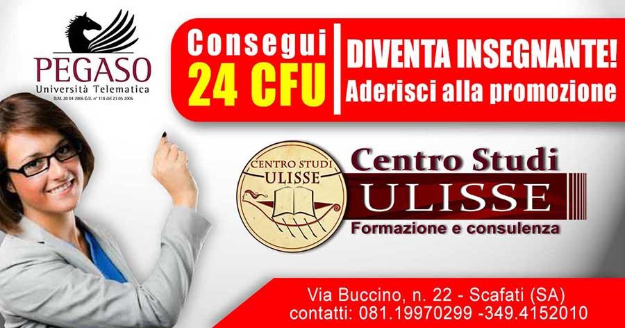 CONSEGUI 24 CFU - DIVENTA INSEGNANTE!