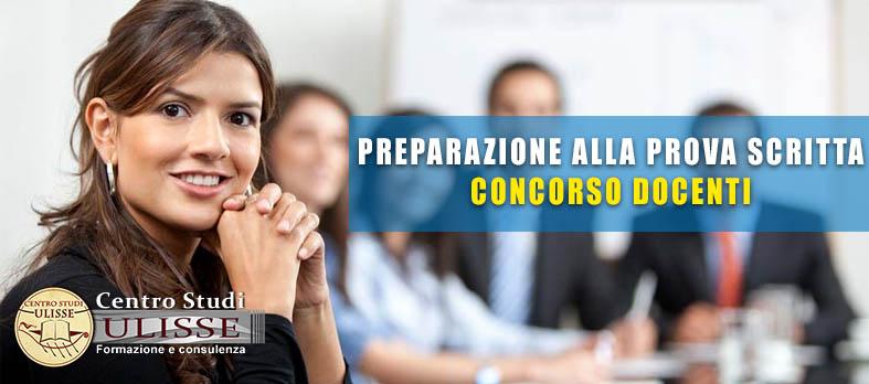 CORSO DI PREPARAZIONE AL CONCORSO DOCENTI 2019