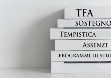 TFA SOSTEGNO: TEMPISTICA, ASSENZE , PROGRAMMI DI STUDIO