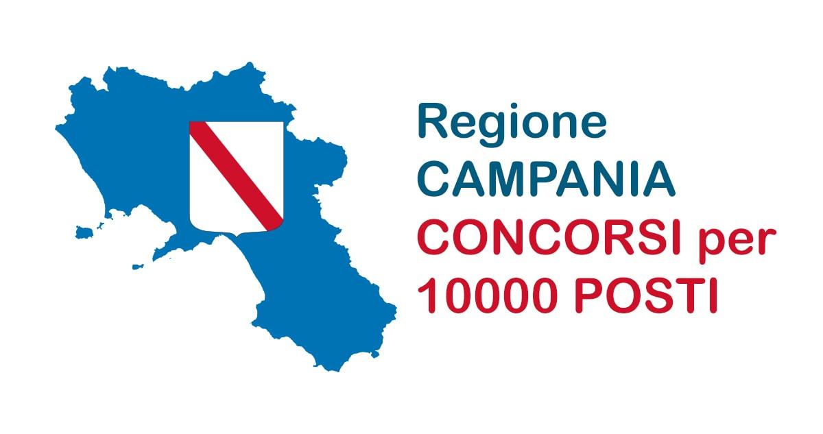 CONCORSO REGIONE CAMPANIA: DATA PREVISTA 28 GIUGNO