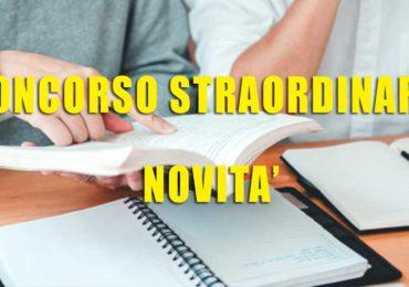 CONCORSO STRAORDINARIO: TUTTE LE NOVITÀ DELL'ACCORDO