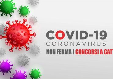 IL COVID 19 NON FERMA I CONCORSI A CATTEDRA