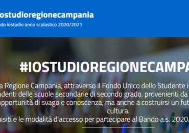 Regione Campania: borse di studio di € 250 per gli studenti